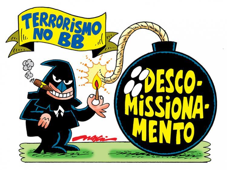 IMPIEDOSO, BANCO DO BRASIL RETALIA BANCÁRIOS E DESRESPEITA JUSTIÇA DO TRABALHO