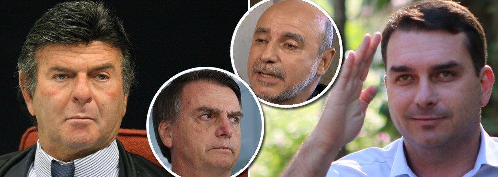FUX MATA NO PEITO E SUSPENDE INVESTIGAÇÃO SOBRE QUEIROZ