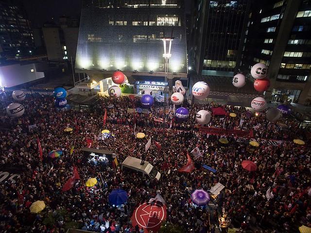 Greve Geral termina com mobilizações em 380 cidades contra a reforma da Previdência