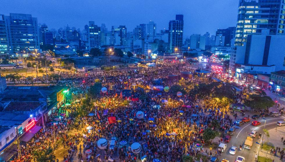 Na GREVE GERAL, Atos de rua mobilizaram as principais cidades do país