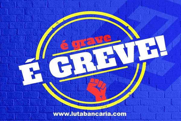 Bancários do Banco do Brasil decidem paralisar atividades na quarta-feira 10