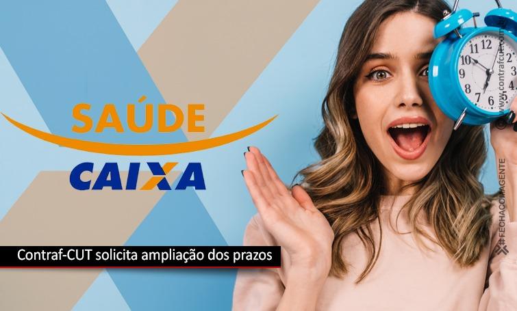 Solicitada ampliação dos prazos do GT Saúde Caixa
